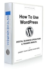 How to Use WordPress Manual