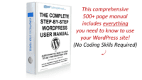 WordPress User Manual - WPTrainingManual.com